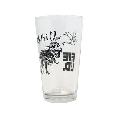 Tooth and Claw Pint Glass | Field Museum Store