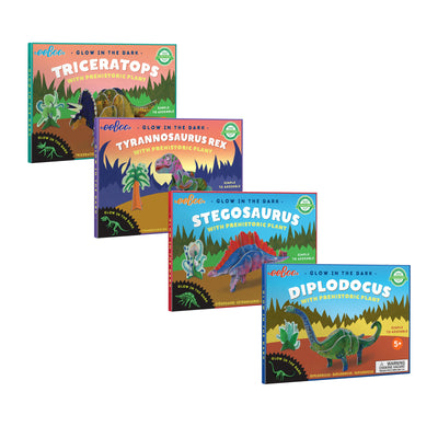 Glow-in-the-Dark 3D Dinosaur Bundle | Field Museum Store