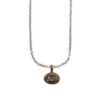 Red Clover Bronze Necklace | Field Museum Store