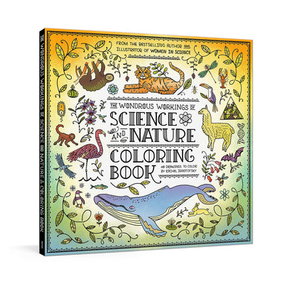 The Wondrous Workings of Science and Nature Coloring Book | Field Museum Store