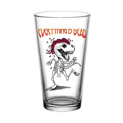Everything is Dead Dino 1 Pint Glass | Field Museum Store