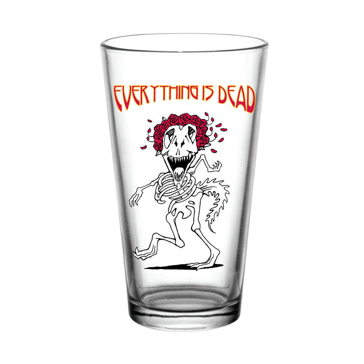 Everything is Dead Dino 2 Pint Glass | Field Museum Store