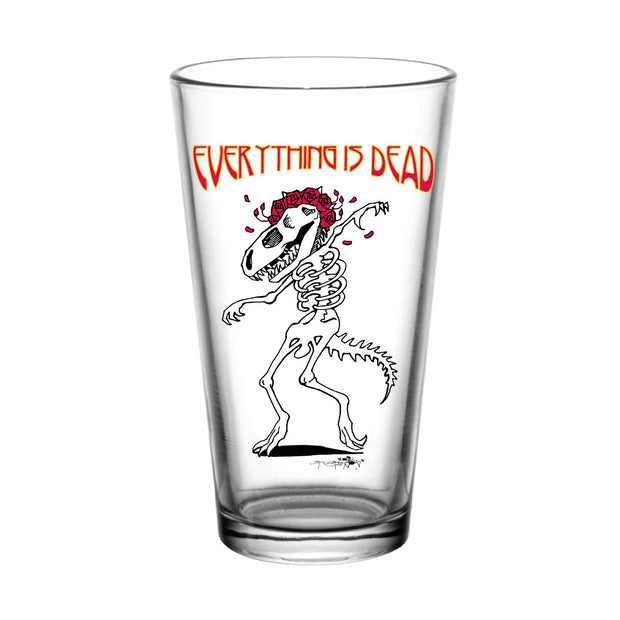 Everything is Dead Dino 3 Pint Glass | Field Museum Store