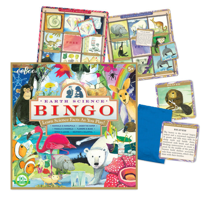 Earth Science Bingo | Field Museum Store