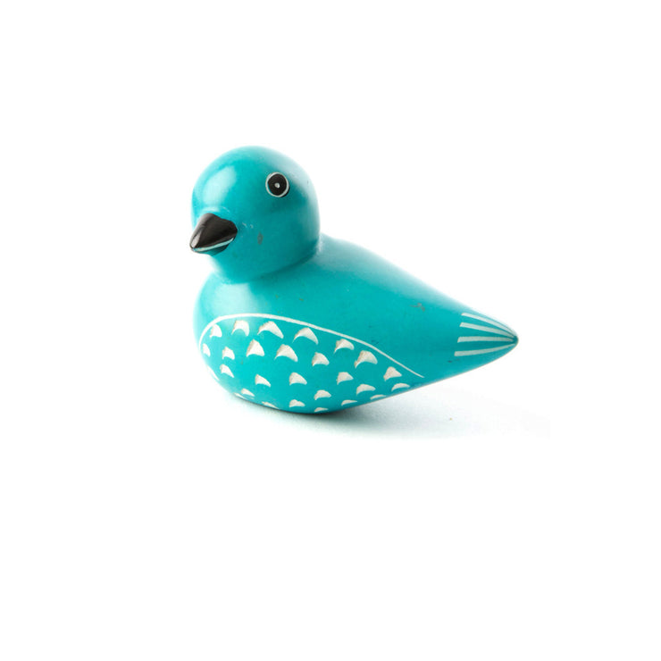 Colorful Bird Soapstone | Field Museum Store