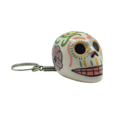 Day of the Dead Skull Keychain | Field Museum Store