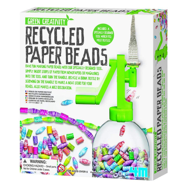 Recycled Paper Beads Kit | Field Museum Store
