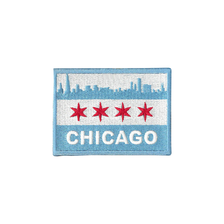 Chicago Skyline Flag Patch | Field Museum Store