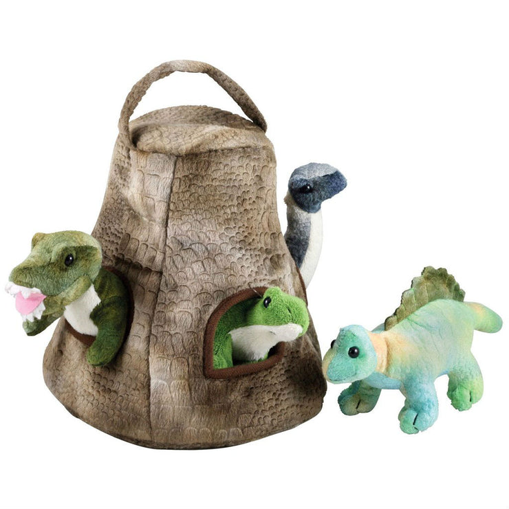 Dinosaur House with 4 Baby Dinos | Field Museum Store