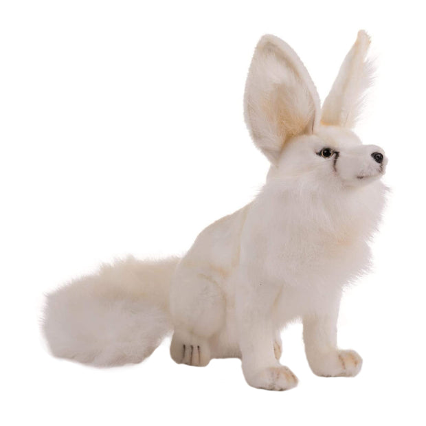 Realistic Long Eared Artic Fox Plush | Field Museum Store
