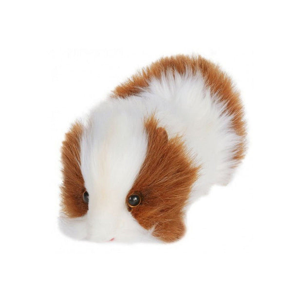 Realistic Brown & White Guinea Pig Plush | Field Museum Store