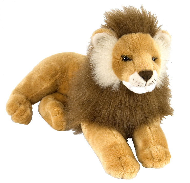 Laying Lion Plush | Field Museum Store