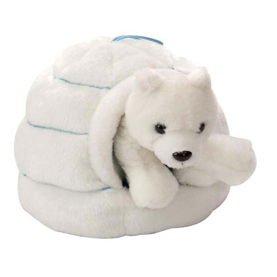 Polar Bear & Igloo Plush | Field Museum Store