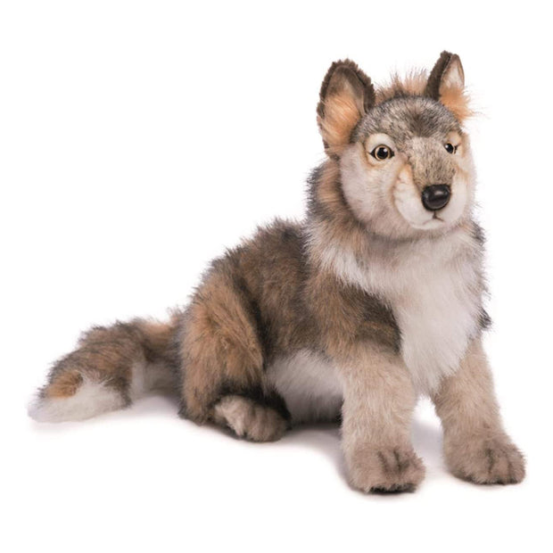 Realistic Wolf Cub Plush | Field Museum Store