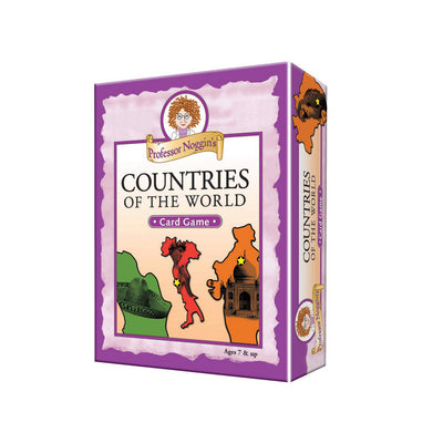 Professor Noggin Countries of the World Card Game | Field Museum Store