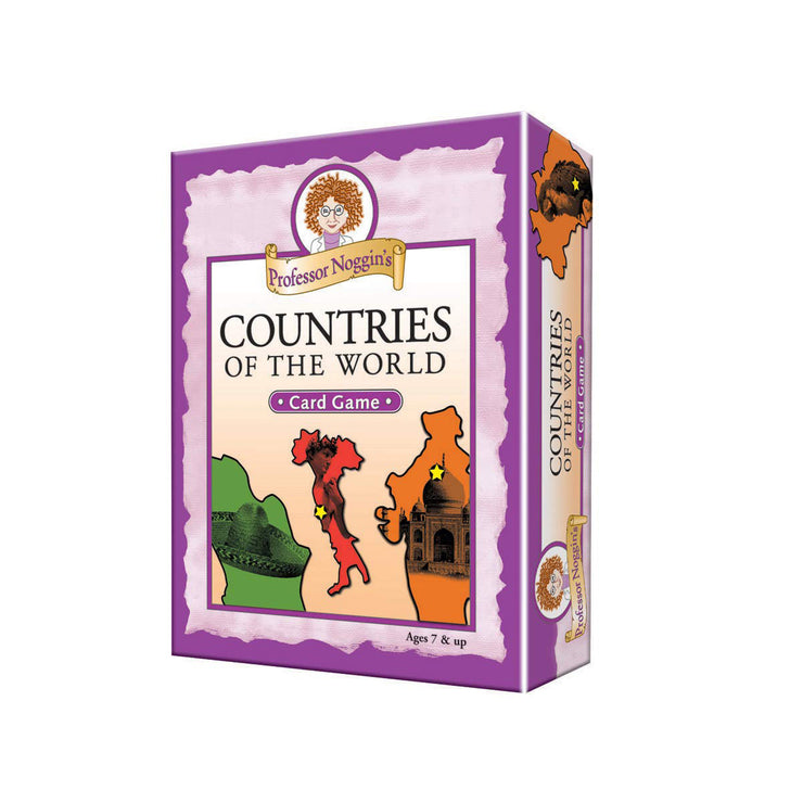 Countries of the World Card Game | Field Museum Store