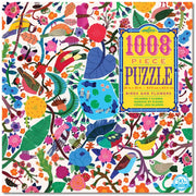 Birds & Flowers 1008 Piece Puzzle | Field Museum Store
