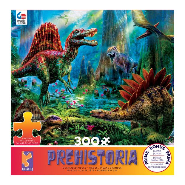 Spinosaur 300 Piece Puzzle | Field Museum Store