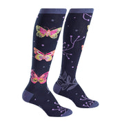 Madame Butterfly Knee High Socks | Field Museum Store
