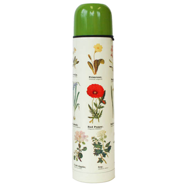 Wildflower Thermos Flask | Field Museum Store