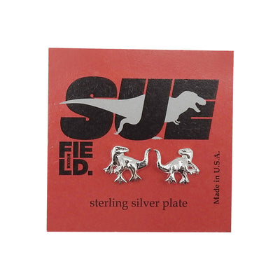 SUE the T. rex Sterling Silver Earrings | Field Museum Store