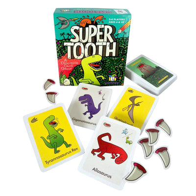 Super Tooth: A Dino-Mite Card Game | Field Museum Store