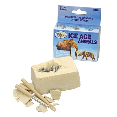 Ice Age Animals Mini Dig Kit | Field Museum Store