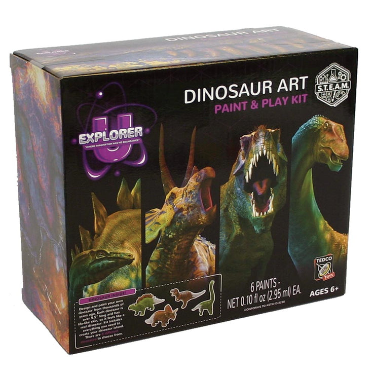 Dinosaur Art: Paint & Play Kit | Field Museum Store