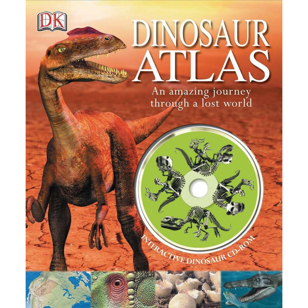 Dinosaur Atlas: An Amazing Journey Through a Lost World | Field Museum Store