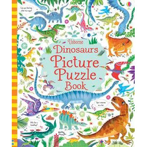 Dinosaur Picture Puzzle Book | Field Museum Store
