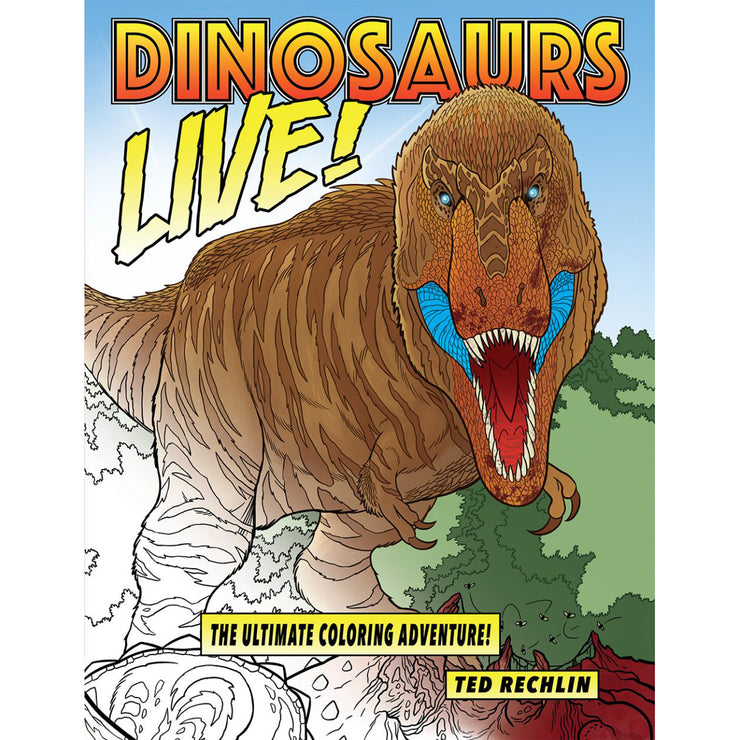 Dinosaurs Live! The Ultimate Coloring Adventure! | Field Museum Store