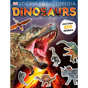 Sticker Encyclopedia Dinosaurs | Field Museum Store