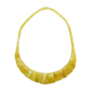 Butterscotch Amber Collar Necklace | Field Museum Store
