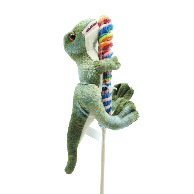 T. rex Plush with Twister Pop | Field Museum Store