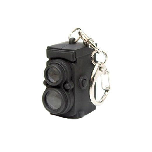Vintage Camera LED Keychain | Field Museum Store