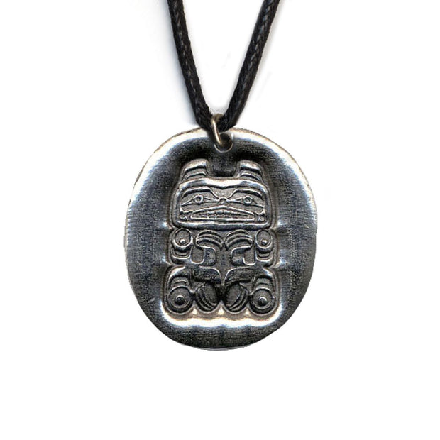 Bear Strength Pewter Necklace | Field Museum Store