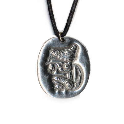 Wolf Leadership Pewter Necklace | Field Museum Store