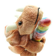Triceratops Plush with Twister Pop | Field Museum Store