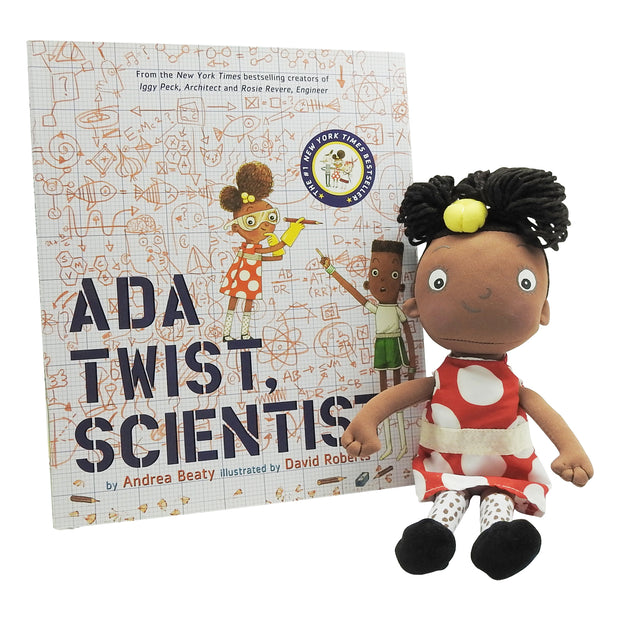 Ada Twist Scientist Plush & Book Bundle | Field Museum Store