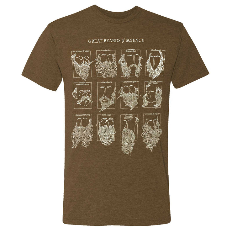 Great Beards of Science Adult T-Shirt | Field Museum Store