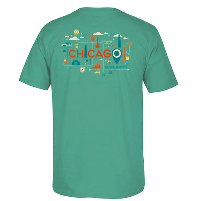 Chicago Locations T-Shirt | Field Museum Store