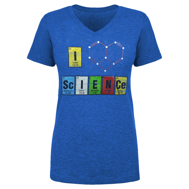 I Heart Science Ladies T-Shirt | Field Museum Store