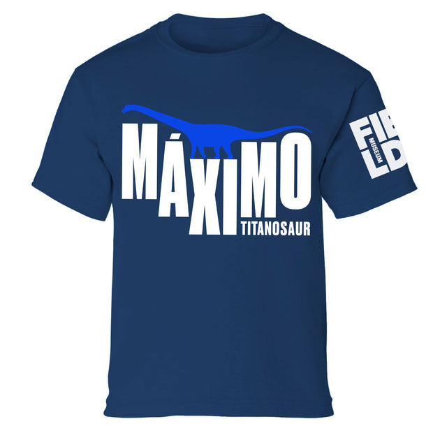 Máximo the Titanosaur Youth T-Shirt | Field Museum Store