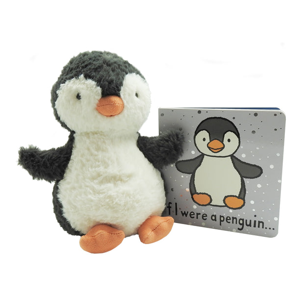 Bashful Penguin Plush & Book Bundle | Field Museum Store