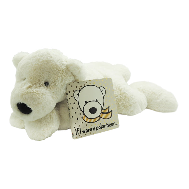 Perry Polar Bear Plush & Book Bundle | Field Museum Store