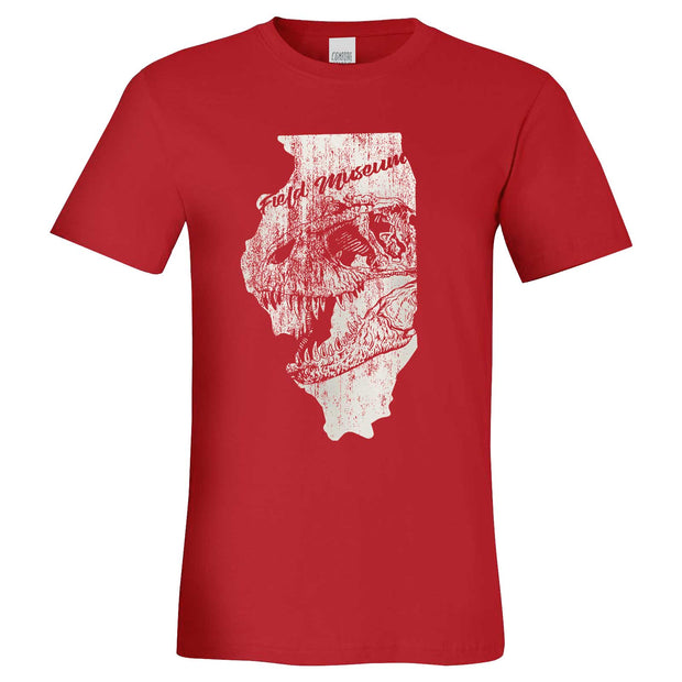 T. rex in Illinois Adult T-Shirt | Field Museum Store