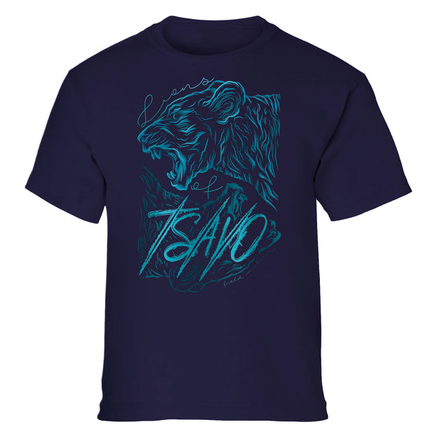 Lions of Tsavo Stylized Youth T-Shirt | Field Museum Store