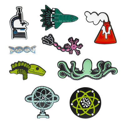 Women in Science Lapel Pin Bundle | Field Museum Store
