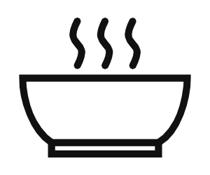 Microwave Preparation Icon