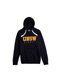 UNSW Block Hoodie in Navy and Yellow